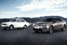 Toyota Marks 50 Years of Corolla Nameplate