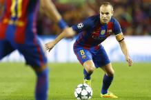Injured Andres Iniesta Faces Long Spell Out For Barca