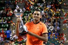 Nick Kyrgios Keeps Cool to Win Japan Open