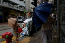 China Issues Red Alert For Typhoon Haima