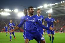 EPL: Diego Costa Sends Chelsea Back on Top With Ninth Win in a Row