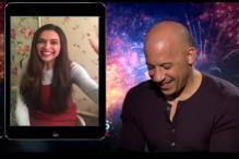 My Love for Deepika Padukone Can't Be Put in Words: Vin Diesel