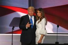 Melania Trump Defends Husband Donald Over His 'Locker Room' Talks