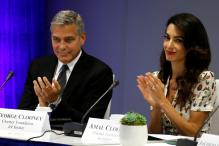 Amal's Decision to Represent an ISIS Sex Slave in Court Was Heroic: George Clooney