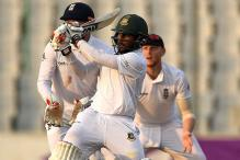 2nd Test: Kayes Hits Unbeaten Fifty as Bangladesh Lead by 128 on Day 2