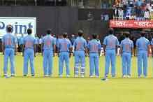 Indian team Wear Jerseys With Mothers' Names in Vizag ODI versus NZ