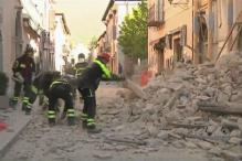 7.1 Magnitude Earthquake Hits Central Italy, Buildings Collapse