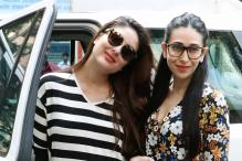 Karisma, Kareena Kapoor Khan Step Out In Style
