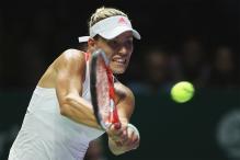 Angelique Kerber Crushes Simona Halep, Madison Keys Downs Dominika Cibulkova at WTA Finals