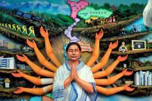 Ma, Murti, Mamata: Bengal Pandals Model CM's Idols in Durga Avatar