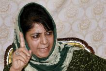 J&K CM Mehbooba Mufti Pitches for Withdrawal of AFSPA From Some Areas
