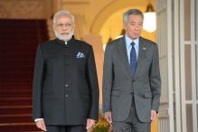 Singapore PM Arrives in India on 5-day Visit