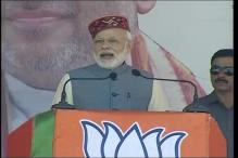 PM Modi Takes a dig at Himachal CM Virbhadra Singh, Alludes to Corruption Charges Against Him