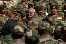 First OROP Instalment of Rs 5,500cr Paid: Modi at Diwali Meet with Jawans