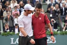 Novak Djokovic Congratulates Andy Murray On Becoming World No.1