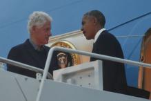 'Let's Go': Obama Hurries Bill Clinton to Get On Air Force One