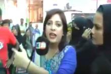 Pakistani Constable Slaps Woman Journalist During Live Broadcast