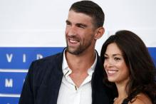 Olympic Swimming Star Michael Phelps Gets Married - Newspaper