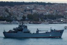 Britain Says Will 'Man-mark' Passing Russian Warships