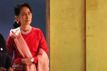 Suu Kyi Lands in Goa Ahead of BRICS-Bimstec Summit
