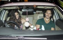 Tiger Shroff, Disha Patani Spotted Together On A Dinner Date