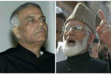Yashwant Sinha Meets Geelani; Govt Says It's Independent Attempt