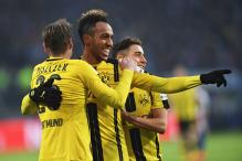 Late Aubemayang Penalty Sends Dortmund Into the Champions League