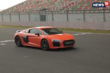 Audi R8 V10 Plus: Beast Mode at Buddh International Circuit