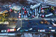 17 Killed, 37 Injured As Multiple Vehicles Pile-Up in China Due to Snow
