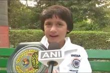 Eight-Year Old Kashmiri Girl Tajamul Islam Scripts Kick Boxing History