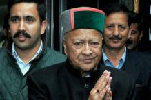 Himachal CM Virbhadra Singh Appears Before ED in Delhi