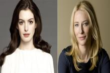 No feud between Anne Hathaway, Cate Blanchett on Ocean's Eight Set