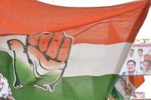 Congress Workers Hold Protest in Chandigarh