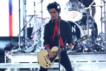 Green Day Chants Against Trump at American Music Awards