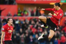 EPL: Zlatan Ibrahimovic Scores Twice as Manchester United Beat Swansea 3-1