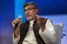 I Will Struggle For You: Kailash Satyarthi Tells Children in Kashmir