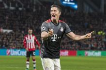 Champions League: Bayern Into Last 16 After Robert Lewandowski Double