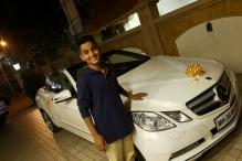 Mumbai MLA Gifts Minor Son A Convertible Mercedes, Netizens Express Concern