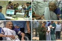 PM Modi's Mother Visits Bank in Gandhinagar to Exchange Old Notes