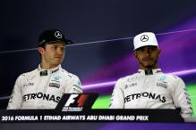 Abu Dhabi Grand Prix: Hamilton on Pole for F1 Title Showdown, Rosberg Second