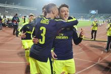 Champions League: Arsenal Advance to Last 16 With 3-2 win at Ludogorets