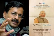 PM Modi Advertising for PayTM Shameful: Arvind Kejriwal