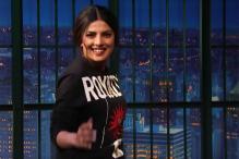 Priyanka Chopra Does the Slo-mo Baywatch Run on Seth Meyers' Show