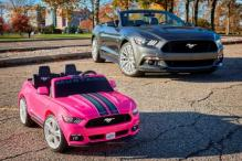 Ford And Fisher-Price Team up to Create Mini-Mustang