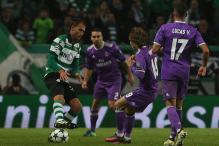 Champions League: Late Karim Benzema Header Gives Real 2-1 Win At 10-man Sporting