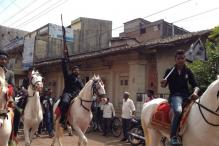 Belagavi or Belgaum? Armed Man on Horse in Busy Street Re-ignites Controversy