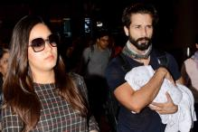 Shahid Kapoor Gives a Glimpse of His Daughter Misha On New Year's Eve