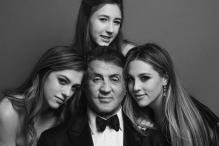 Sylvester Stallone Tries Out Pilates With Daughter Sophia Rose