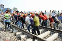 Kanpur Train Accident: Railway Track Repair on in Full Swing