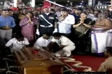 Jayalalithaa Laid to Rest With Full State Honours